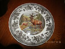 """QUEEN'S Quintessential Game STAG 8"""" PLATE  Made in England DEER Buck"""