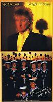 """Rod Stewart """"Tonight I`m yours"""" Werk mit zehn Songs! Von 1981!  Nagelneue CD!"""