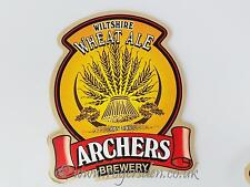 Archers Brewery Real Ale Pump Clip Wiltshire Wheat Ale