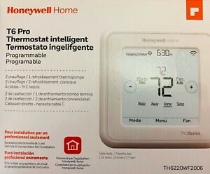 Honeywell TH6220WF2006  T6 Pro Wi-Fi Certified Programmable Thermostat