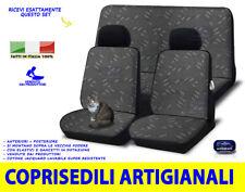 Coprisedili Fiat Panda 750 fodere sedili copri foderine in cotone set per sedile