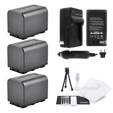 3x NP-FV70 Battery + Charger for Sony DCR-SX33 SX45 SX65 SX85 SR88 SR20