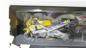 MINICHAMPS 1/12 ROSSI HONDA NSR 500 MOTO GP 2001 FIRST EDITION ENCORE SCELLEE