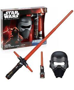 Star Wars Kylo Ren Lightsaber & Mask Bladebuilders New Boxed Uk Seller 🇬🇧