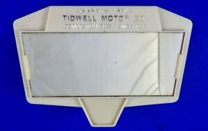 Tidwell Motor Co Hobbs NM Chrysler Desoto Plymouth Dodge Dealer Vanity Mirror