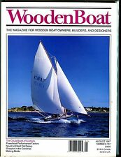 Wooden Boat Magazine August 1997 Couta Boats EX No ML 051817nonjhe2