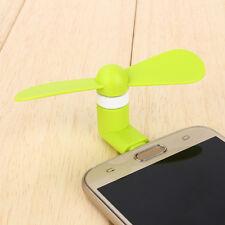 Green Portable Super Mute Lightning USB Mini Fan Cooler For Apple Iphone 5 6 6S