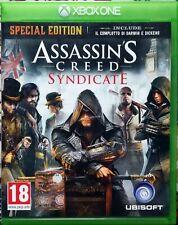 Assasins creed Syndicate xbox one CD ITA Ottime condizioni