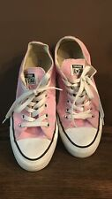 Convers All Star Pink Unisex Low Top Shoes /Sneakers  Size M 5 / W 7