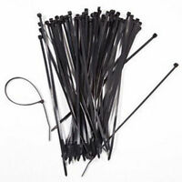 14 Inch Nylon Cable Wire Zip Tie 40 lbs Natural White 200 Pack Lot Pcs Qty