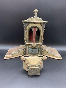 Sakral Altar 18./19.jhd IHS drehbar geschnitzt [210963]