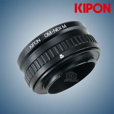Kipon Adapter with Focus Helicoid for Olympus OM Mount Lens to Sony E NEX A7R2