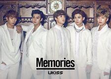 U-Kiss Memories (First Press Limited Edition) (CD+DVD+PHOTOBOOK) Japan(3Rd Album