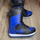 Nike Vapen Snowboard Boots 447125-041 Black Blue Royal SB Mens Size 8