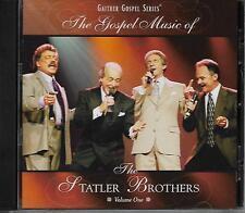 """THE STATLER BROTHERS....""""THE GOSPEL MUSIC OF""""....""""VOLUME ONE""""......NEW GOSPEL CD"""