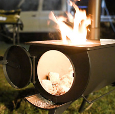 portable outdoor wood stove cooking camping