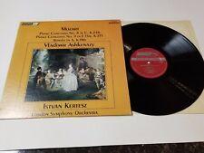 ASHKENAZY MOZART KERTESZ LP PIANO CONCERTO K.271, K.246 LONDON CS 6501 VG ST