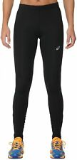 Asics Women's Running Tights - Black/Blue - New