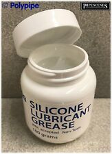Polypipe Silicone Grease 100g Lubricating Faucets Valves Ballcocks Stopcocks