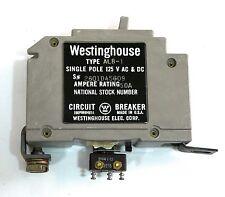 WESTINGHOUSE ALB-1 AB De-ion CIRCUIT BREAKER 50A 2601D45G09 NSN 5925-00-071-2619