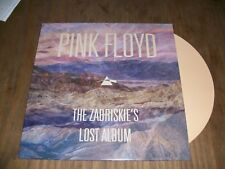PINK FLOYD RARE LP COULEUR THE ZABRISKIE'S LOST ALBUM