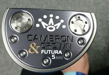 Titleist Scotty Cameron, Cameron & Crown Futura 5MB Putter 33""