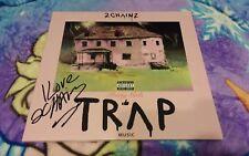 2 CHAINZ signed auto PRETTY GIRLS LIKE TRAP MUSIC 2x Pink Vinyl LP PSA/DNA COA