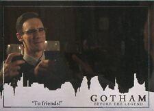 Gotham Season 2 Foil Parallel Base Card #18 ?To friends!?