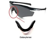 Galaxy Nose Pads Rubber Kits For Oakley M2 Frame Sunglasses White Color