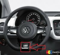 NEW GENUINE VW UP! 2012-2017 STEERING WHEEL BLACK TRIM COVER 1S0498685AN0R