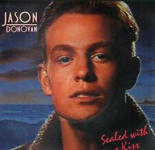 "Jason Donovan(7"" Vinyl P/S)Sealed With A Kiss-PWL 39-65-VG+/Ex"