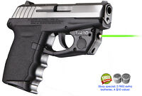 ARMALASER TR10G SCCY CPX-1 CPX-2 CPX-3 BRIGHT GREEN LASER WITH GRIP ACTIVATION