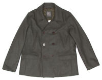 NEW The Gap Women's XXL Wool-blend Pea coat Olive-Gray Jacket NWT $198.00