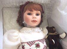 """Pauline Bjonness-Jacobsen Porcelain 22"""" Doll """"Scarlet"""" Ltd. Ed."""
