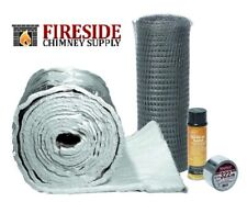 "CHIMNEY LINER INSULATION KIT 3"" to 6"" LINERS x 15'"