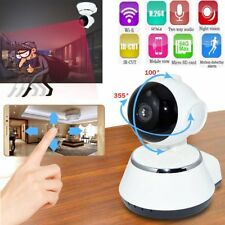 Network Home CCTV IP Camera Wireless 720p Pan Tilt IR Night Vision WiFi Webcam K