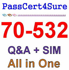 Best Exam Practice Material For 70-532 Exam Q&A+SIM