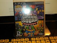 MARVEL SUPERHERO SQUAD THE INFINITY GAUNTLET-PS3-FREE SHIPPING