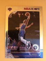RJ Barrett RC Rookie Card 2019-20 NBA Hoops Premium Stock #201 New York Knicks