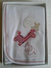 Emotion & Kids Red Elephant - Giraffe Baby Wrap 100% Cotton 75 cm x 100 cm