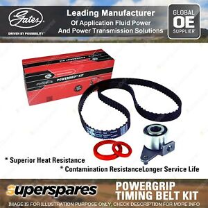 Gates Cam Timing Belt Kit for Volvo 240 P242 P244 P245 360 740 760 940 945 944
