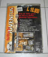 TUTTA LA JUVENTUS in Cd-Rom Edizione 1997-98 NUOVO Calcio Football Pc Cd Rom