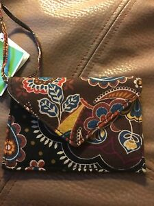 VERA BRADLEY Envelope ID Luggage Tag KENSINGTON New With Tags! Retired