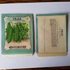 Vintage 1900's lithograph seed package, Chesmore seed company