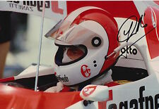 Johnny Cecotto Hand Signed 12x8 Photo Toleman Group F1.