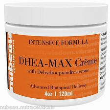 DHEA MAX: Bioidentical DHEA Supplement Cream Paraben Gluten Free Vegan 90 Day S