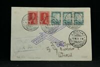 Greece: 1931 First Flight Cover, Salonia to Athens