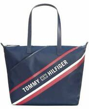 BNEW Tommy Hilfiger Skylar Nylon Tote Bag, Navy Blue