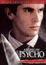 American Psycho (Dvd, 2005, Uncut, Killer Collector's Edition) New