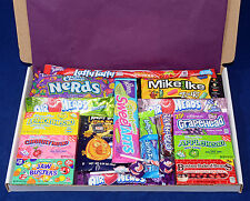 American Candy Gift Box - USA Sweets - Birthday Present - Hamper - Angry Birds